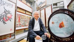 名人樂事》邱再興與他的國寶級繡畫