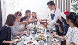 法國家庭趴×簡天才:烤閹雞、耶誕蛋糕…餐桌上的文化嘉年華