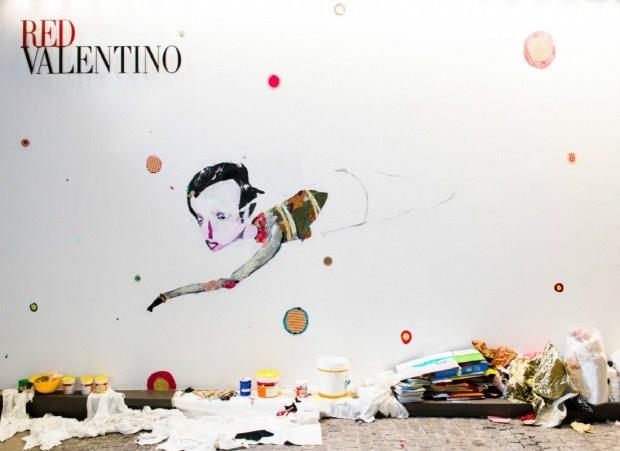 巨大牆壁成畫布 米蘭實況藝術創作展