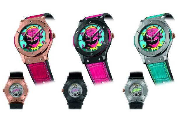 HUBLOT御博錶攜手大笑藝術家岳敏君共同推出猴年生肖錶