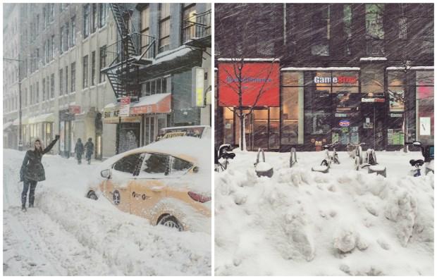 美猴王嬉遊曼哈頓 大雪紛飛那一天的紐約金融區