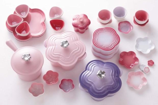 餐桌上的花見時光 LE CREUSET推出花漾系列鑄鐵鍋