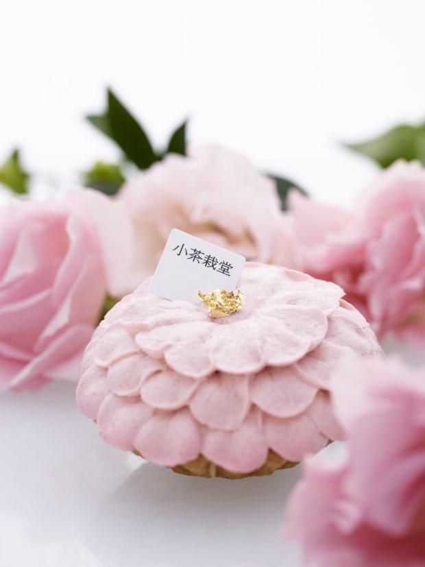 春神為繆思,來片花瓣蛋糕吧!