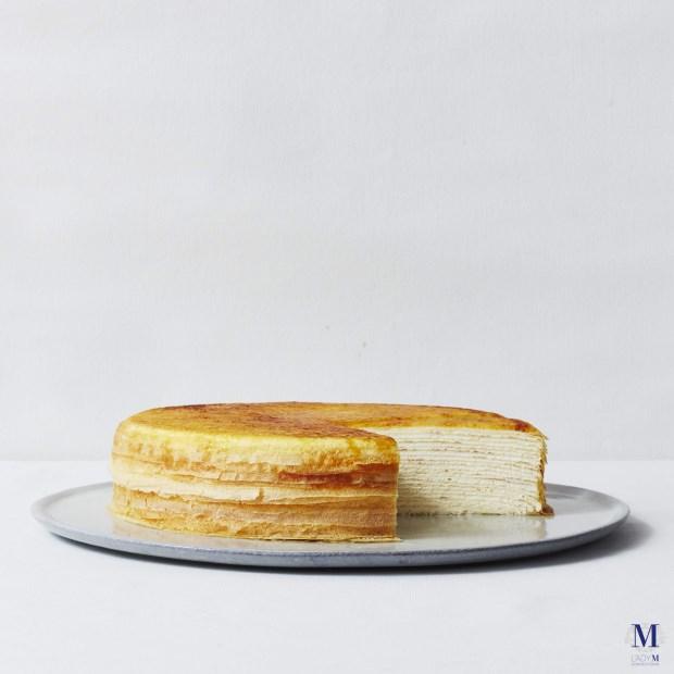 神級甜點『Lady M』登台 台灣限定百香果千層口味