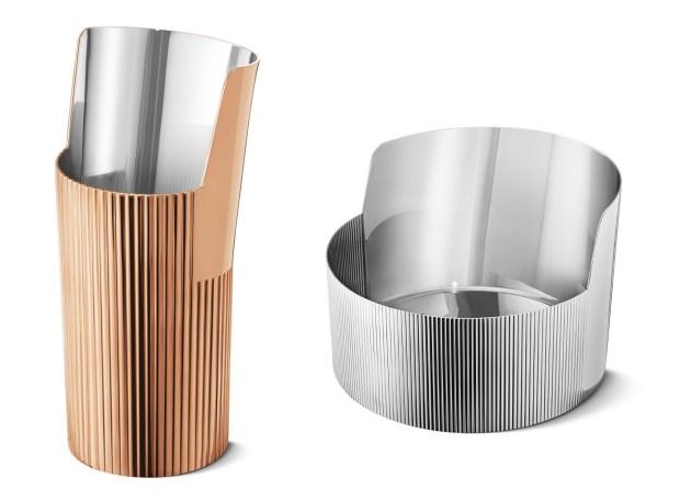 不鏽鋼質地再創造 水瓶、燭台...通通難不倒