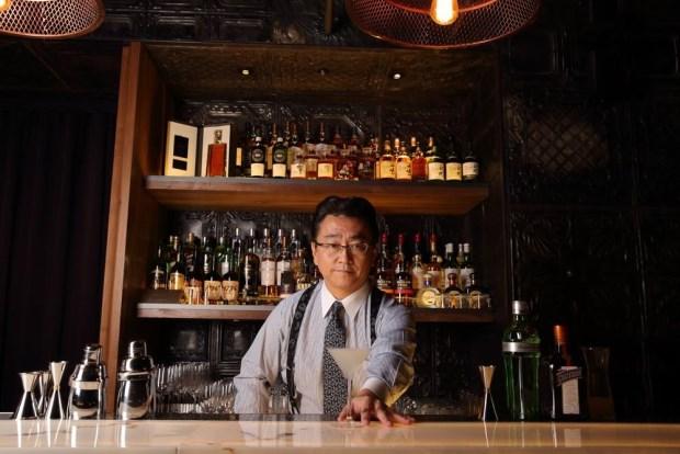 日本調酒大師上野秀嗣把關 East End酒吧越夜越微醺