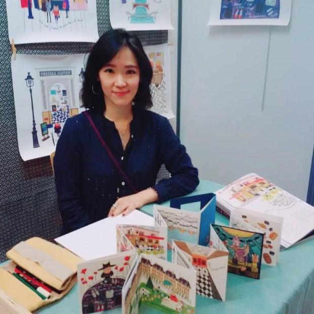 台灣製造,巴黎發光 – 文青美女插畫家Jocelyn Kao