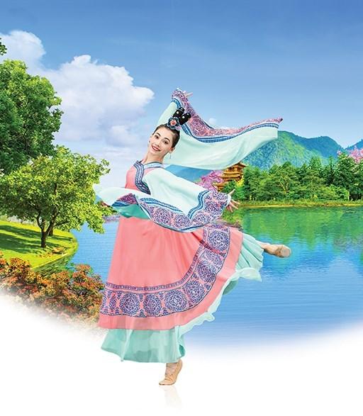 國際藝術團,領舞演員來自台灣