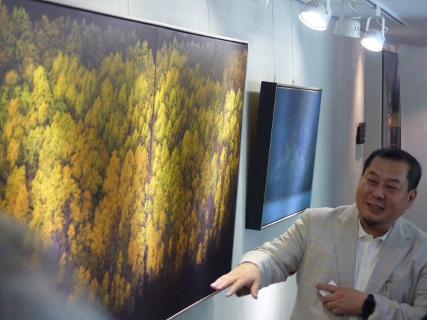 馥蘭朵烏來邀書畫藝術家李宗仁創作