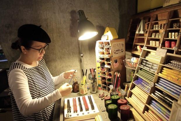 禮拜文房具 實用美學走向國際