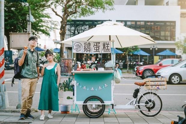 La Rue文創三輪車 玩轉城市新風景