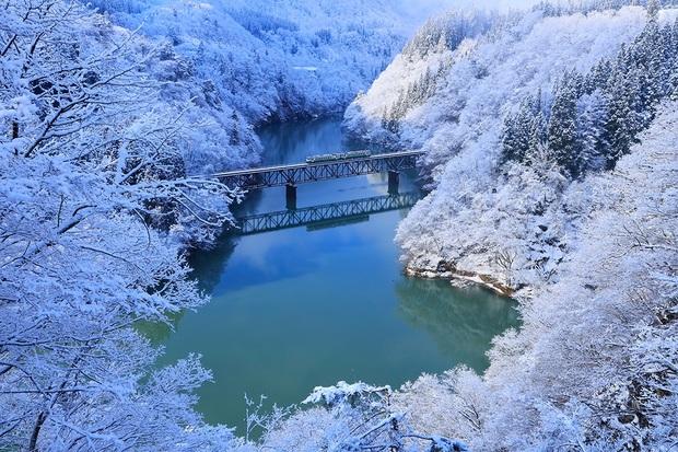 絕景.只見線 魅惑吳心緹の日本最美鐵道風景展