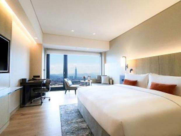 許旅客一個置身天際、暫離塵囂的夢幻小假期 台北萬豪酒店期間限定「Sky 5000」住房專案