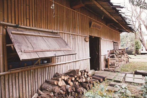 環保綠建築的竹造屋