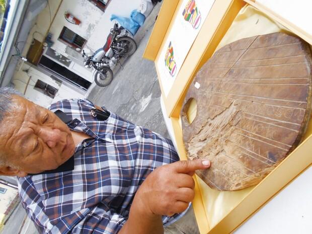 布農族祭儀木刻畫曆