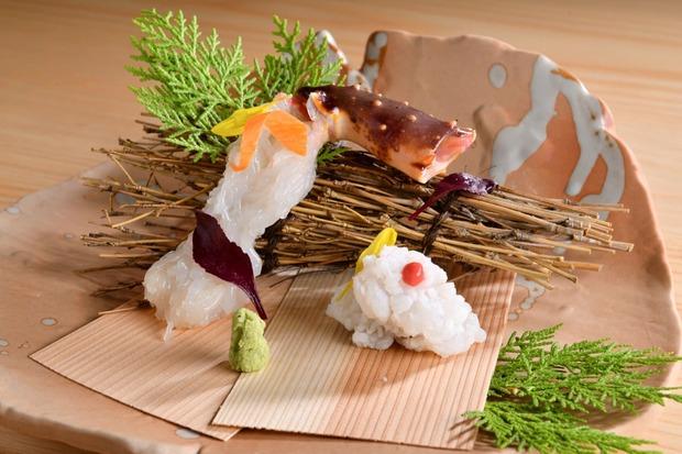 品嚐頂級日本蟹料理的美味 月夜岩蟹懷石TSUKIYOIWA
