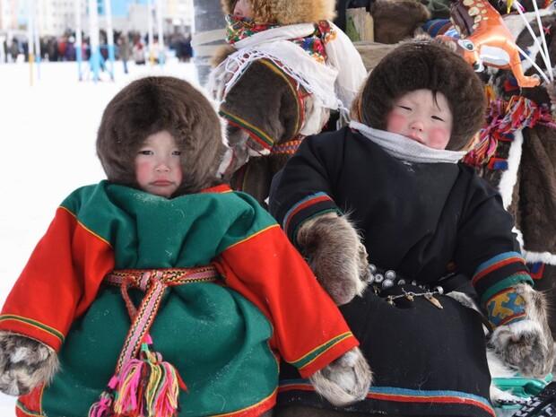 俄羅斯極地的馴鹿人