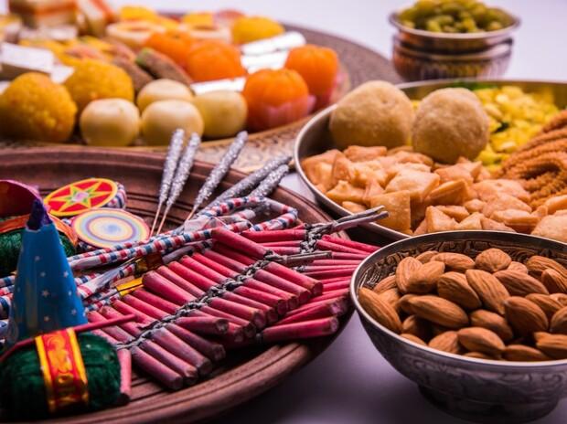 斐濟迪瓦利節美食與燈飾