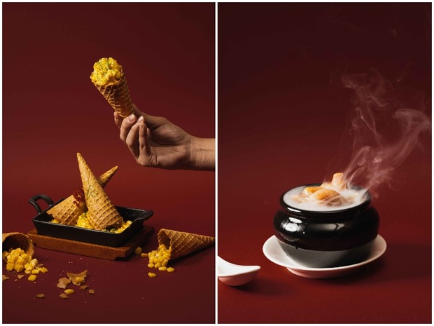 細膩東方元素x時髦台味料理與獨門特調