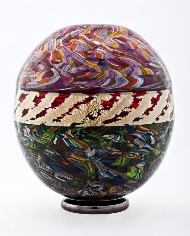 用生命描繪藝術 安井顯太雙年展 台日玻璃藝術交流 溫暖光景流動致敬美好
