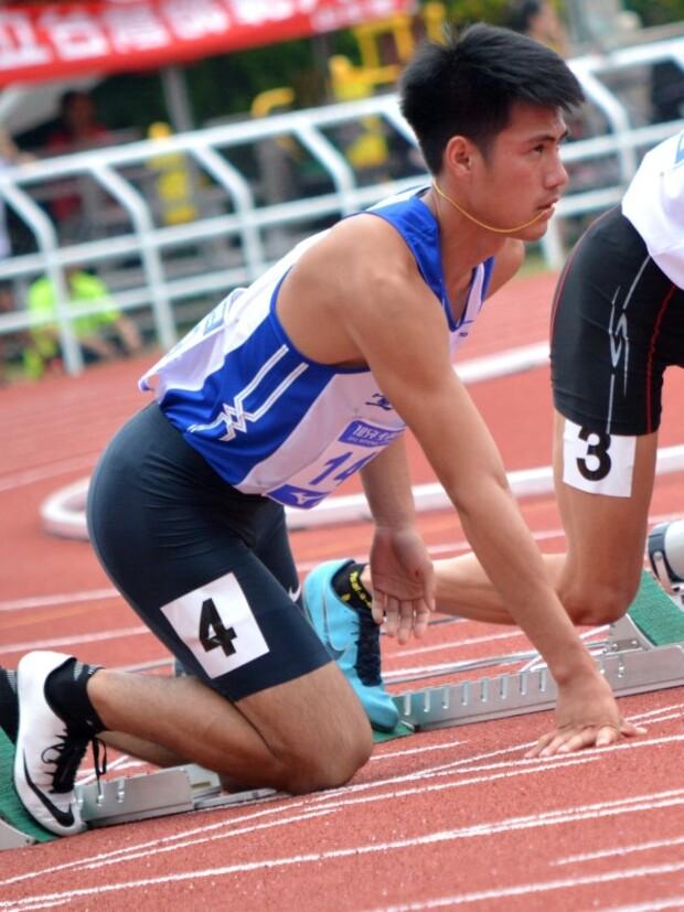 臺灣最速男 田徑場上的常勝軍