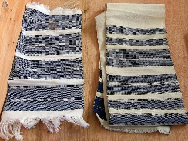 雅美族織布充滿海洋光彩
