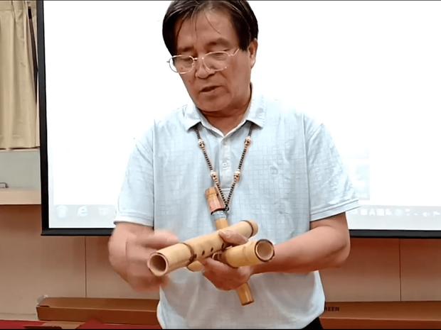 馘首笛─神聖的泛泰雅族引靈樂器