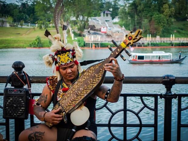 婆羅洲雨林的守護者—達雅族