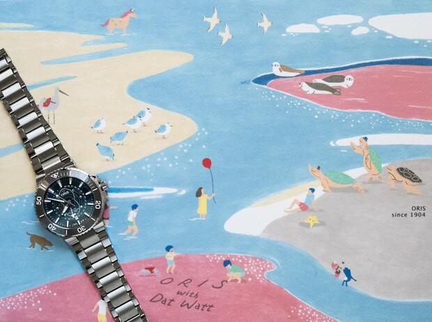 ORIS藝術跨界演繹新「錶」情