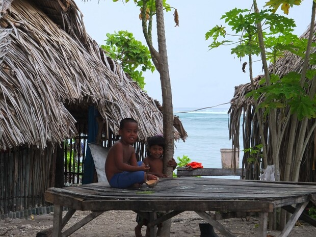 橫跨東西南北半球的吉里巴斯共和國